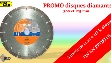 Promo disque diamant Ø230 et 125 mm !