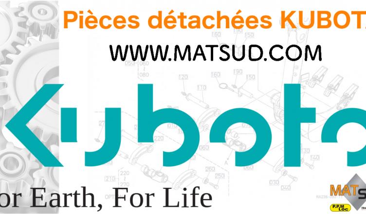 pièces détachées kubota matsud